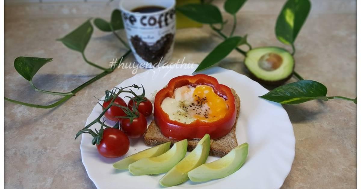 #cleaneating Bữa sáng nhanh gọn với trứng chiên