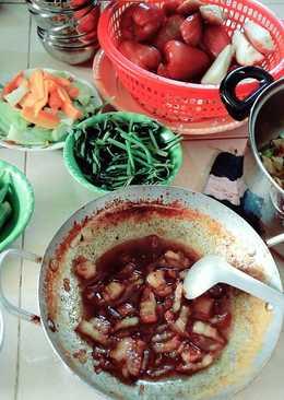 Kho khô quẹt thịt ba chỉ mặn mòi, hao cơm, chồng con siêng ăn rau hơn!