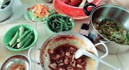 Hình ảnh món Kho khô quẹt thịt ba chỉ mặn mòi, hao cơm, chồng con siêng ăn rau hơn!