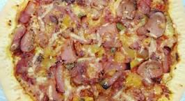 Hình ảnh món Pizza đế mỏng giòn tan