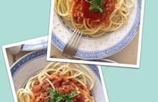 Mì Spaghetti Bò Bằm