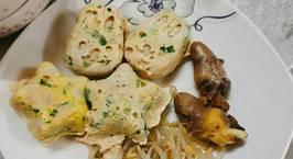 Hình ảnh món Trứng gà hấp thịt băm cho bé