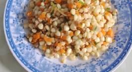 Hình ảnh món Bắp xào thịt bằm + cà rốt