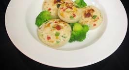 Hình ảnh món Chả gà rau củ áp chảo - lowcarb food