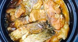 Hình ảnh món Cá Trắm kho quả chay