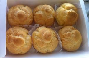 Bánh Choux Cream-Công thức bất bại