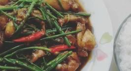 Hình ảnh món Cơm ếch Singapore
