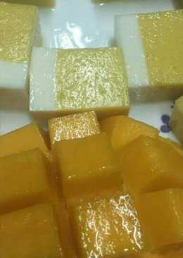 Rau câu xoài sữa chua (thạch xoài sữa chua)