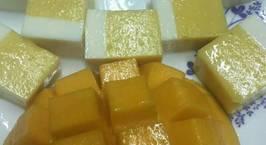 Hình ảnh món Rau câu xoài sữa chua (thạch xoài sữa chua)