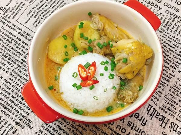 Cơm Cari Gà Kiểu Thái