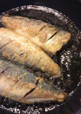 Cá ngân lắc bột chiên giòn
