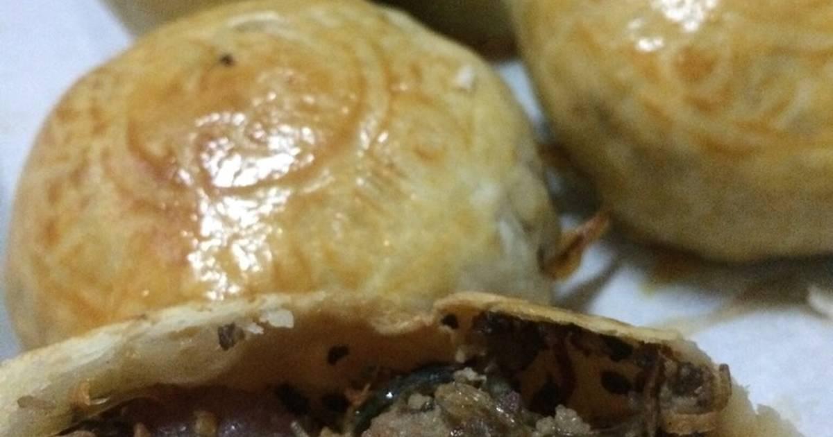 Bánh bao nướng nhân lạp xưởng #ngon-bất-ngờ