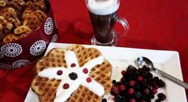 Hình ảnh món Bánh Vafle - bánh ngọt