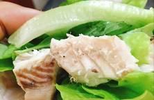 Cá Ngừ Hấp Cuốn Bánh Tráng