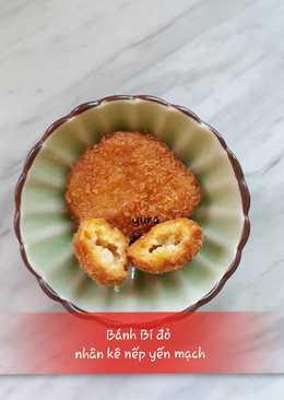 Bánh Bí đỏ nhân hạt kê yến mạch cho bé