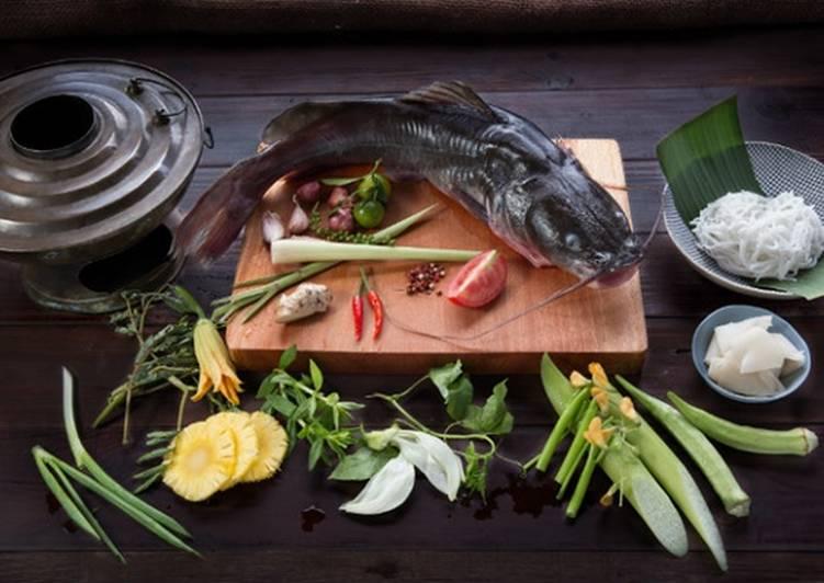 Lẩu cá lăng chua ngọt cho ngày cuối tuần hình đại diện món