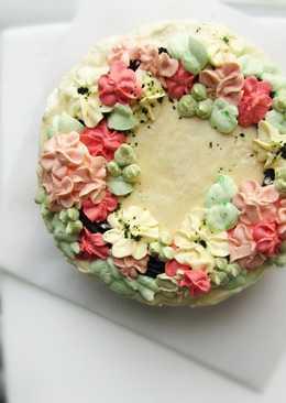 Bánh kem bơ thực vật