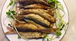 Hình ảnh món Cá trích rán giòn