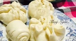 Hình ảnh món Bánh Bao nhân trứng muối