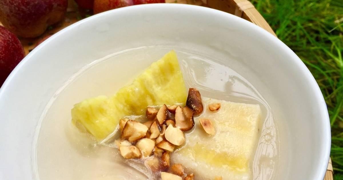 Chè chuối khoai lang phiên bản ko nước cốt dừa ?