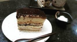 Hình ảnh món Opera cake