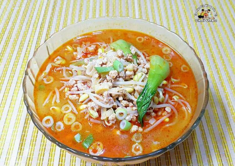 Canh Giá tương 콩나물 찌개