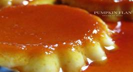 Hình ảnh món Pumpkin flan (flan bí đỏ)