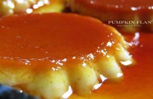 Pumpkin flan (flan bí đỏ)