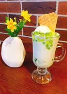 Pandan Ice cream Yougurt