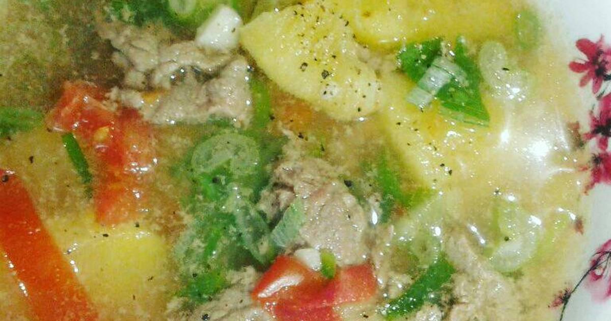Canh Thịt bò nấu thơm (dứa)