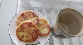 Hình ảnh món Bánh khoai lang nhân Pho mai (Các mẹ có thể làm món này cho bé yêu ăn dặm)