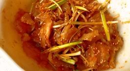 Hình ảnh món Gân bò trộn sa tế (Spicy beef tendon)