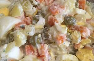 Salade rau củ ngày hè