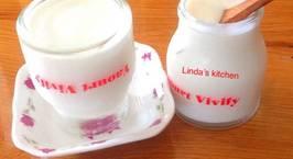 Hình ảnh món Tự làm sữa chua úp ngược không đổ ngon hơn mua