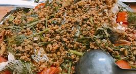 Hình ảnh món Cá hấp xì dầu sốt thịt băm