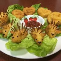 Porcupine Potatoes