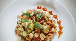 Hình ảnh món Bắp xào rau củ - món ăn vặt ngon