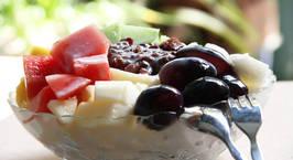 Hình ảnh món Đá bào đậu đỏ - Patbingsu