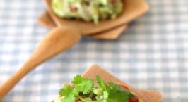 Hình ảnh món Salad quả bơ Mexico (Guacamole )