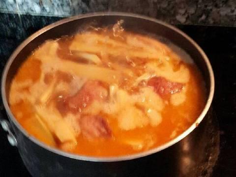 Thịt kho măng recipe step 5 photo
