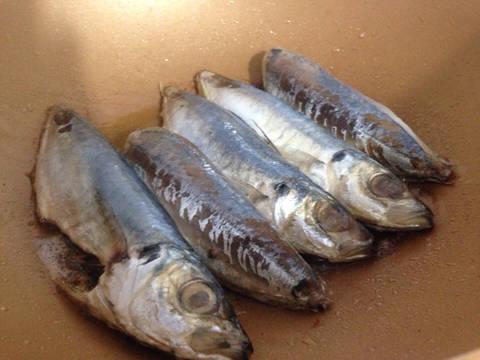 Cá Nục kho thịt ba chỉ recipe step 2 photo