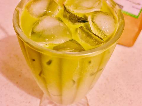 Matcha Iced Latte recipe step 7 photo