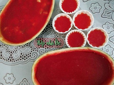 🥂🍉 Thạch dưa hấu - Thạch hoa quả🍉 🥂 recipe step 3 photo