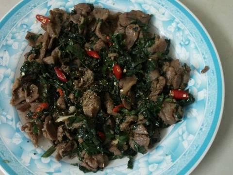 Thịt bò xào lá lốt recipe step 5 photo