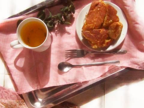 Bánh mì ngọt không cần lò nướng recipe step 4 photo