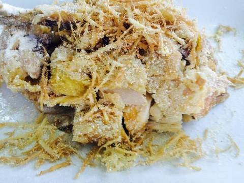 Gà rang muối recipe step 9 photo