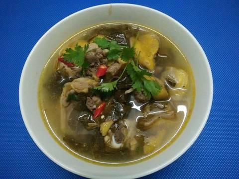 Canh gà lá giang recipe step 3 photo