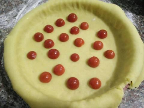 Bánh Tart Mặn Nhân Creamcheese Và Cà Chua recipe step 4 photo