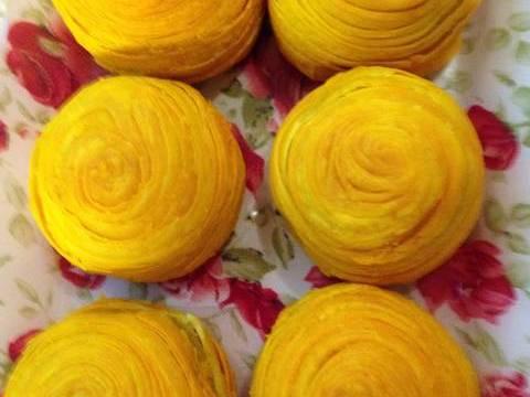 Bánh trung thu ngàn lớp kiểu Triều Châu (Teochew Spiral Yam Moon Cake) recipe step 9 photo