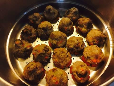Bún thịt củ từ, khoai lang tím recipe step 12 photo